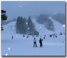 Night Skiing at Gunstock