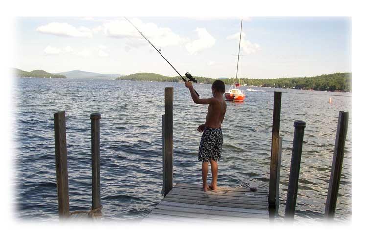 Lake Winnipesaukee Fishing