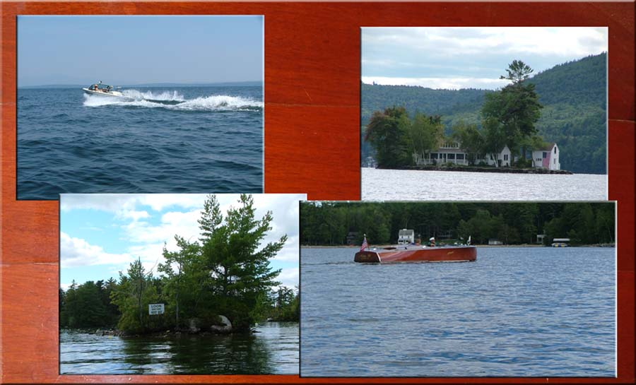 Family Boating Lake Winnipesaukee