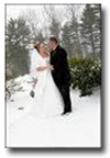 Wedding in the Snow - Lake Winnipesaukee