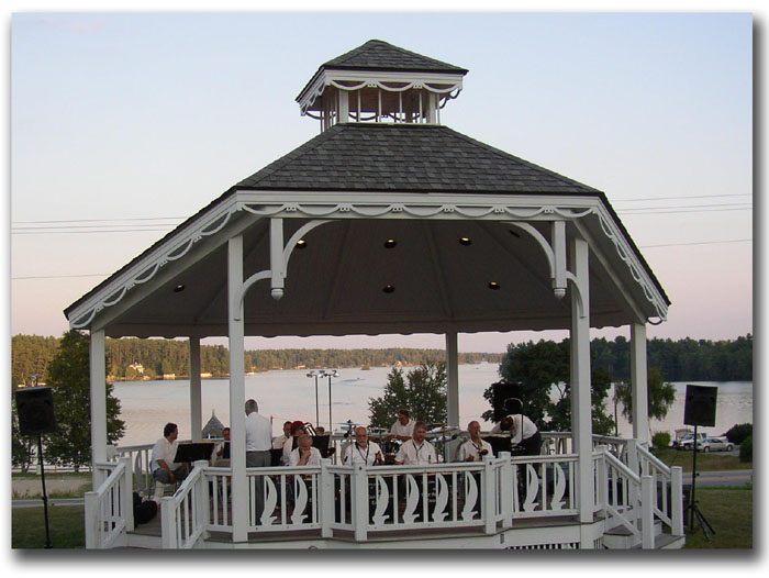 Center Harbor Bandstand