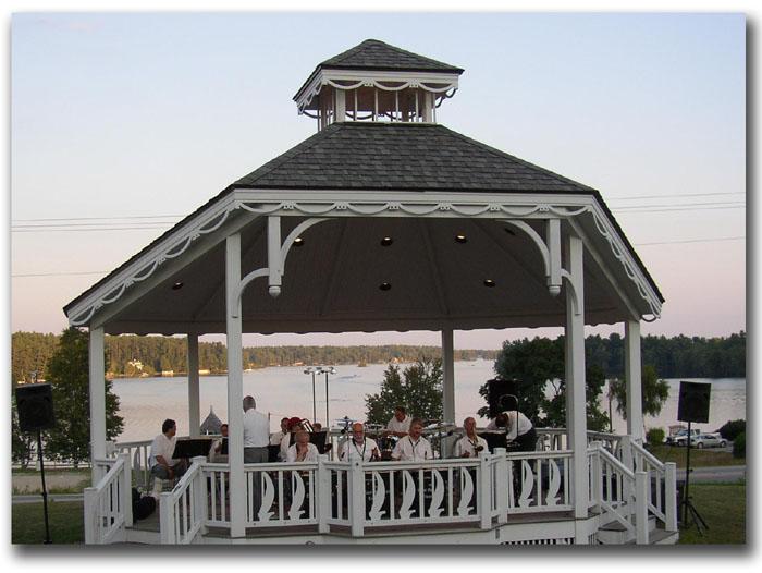 Center Harbor Bandstand