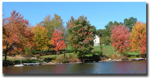 Fall Foliage - Lake Winnipesaukee