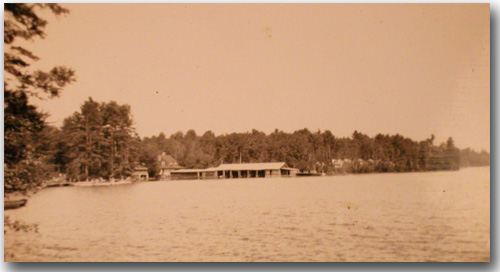 Brown's Boat Basin in 1939.