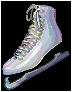 Ice Skating Clipart
