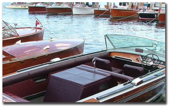 Meredith NH - Antique Boat Show