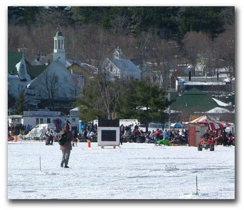 Meredith NH Ice Fishing Derby