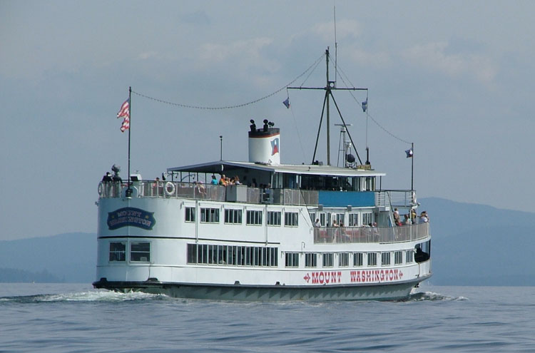 M/S Mount Washing, Lake Winnipesaukee