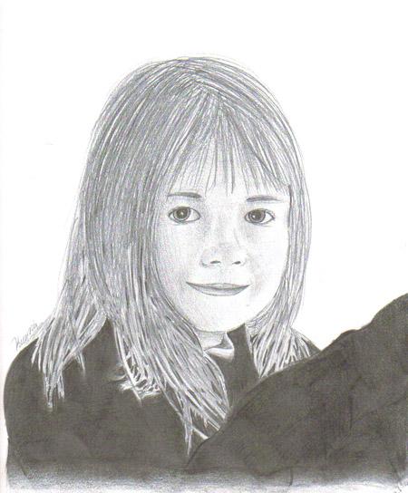 Pencil sketches.