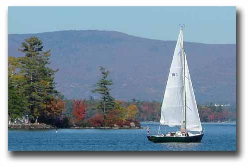 Marriage Proposal - Lake Winnipesaukee
