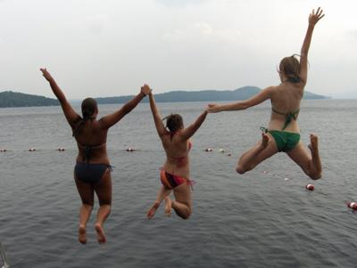 Fun on Lake Winnipesaukee