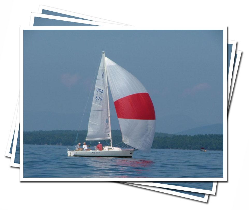 Sailing on Lake Winnipesaukee